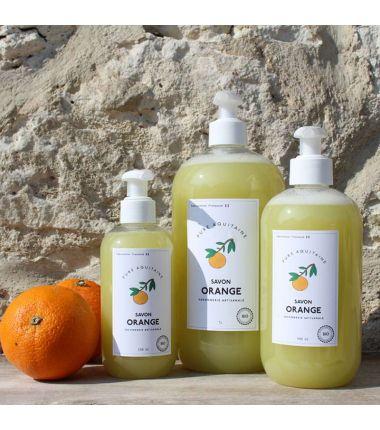 savon orange douce 1L