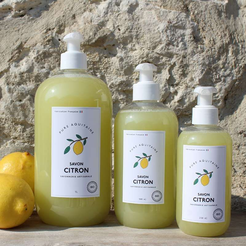 savon citron 500 ML