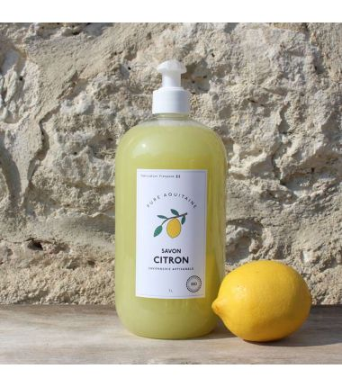 savon citron 1L