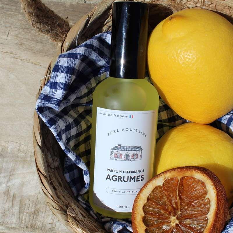 parfum d'ambiance Agrumes